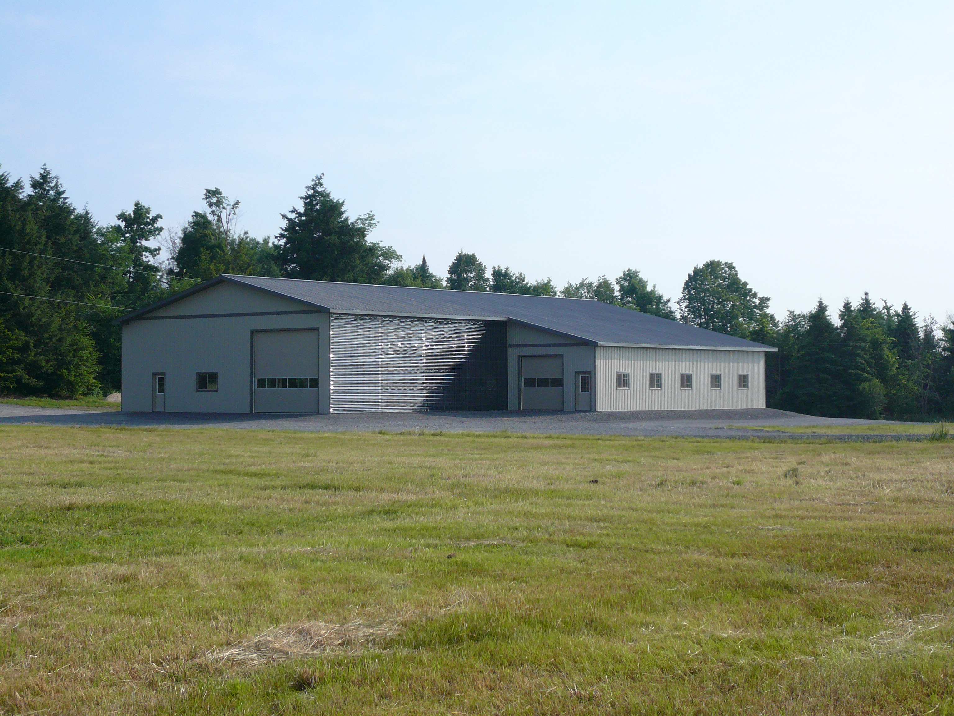 Simpson farm storage building argue construction for Farm house construction